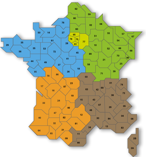 carte martin dominique